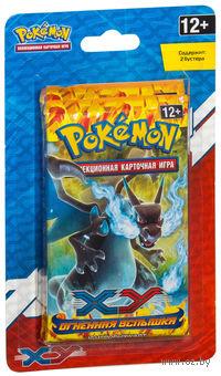 """Блистер """"Pokemon XY. Огненая Вспышка"""" (2 бустера)"""
