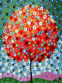 "Картина по номерам ""Денежное дерево"" (400х300 мм)"