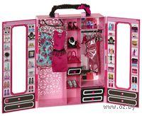 """Игровой набор """"Барби. Модный гардероб с аксессуарами"""""""