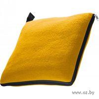 """Плед-подушка 2-в-1 """"Radcliff"""" (желтый; 180 x 120 см)"""