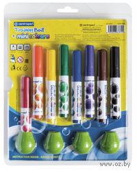 """Фломастеры """"Colours mini"""" (8 цветов + 4 насадки-держателя)"""
