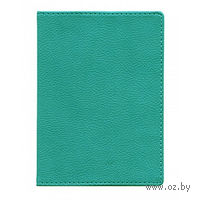 """Обложка для паспорта Time/System """"Aston"""" (aquamarine)"""