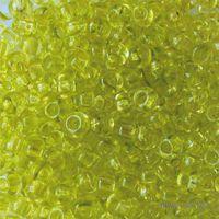 Бисер прозрачный №01153 (салатовый)