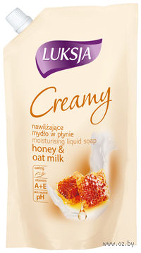 """Жидкое мыло """"Creamy. Мед и овсяное молочко"""" (900 мл)"""