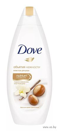 """Крем-гель для душа DOVE """"Масло Ши и пряная ваниль"""" (250 мл)"""