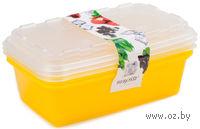"Набор контейнеров для заморозки ""Zip"" (3 шт.; лимон)"