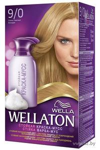 """Краска-мусс для волос WELLATON """"9/0-Очень светлый блондин"""""""