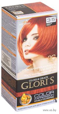 Крем-краска для волос (тон: 3.5, медный блеск, 2 шт)