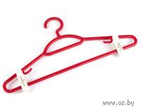Вешалка для одежды пластмассовая (42 см, арт. С511)