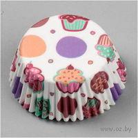 Набор форм бумажных для выпекания кексов (75 шт; арт. WLT-415-128)