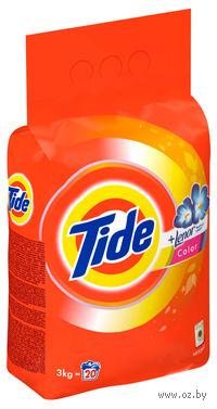 """Стиральный порошок Tide Absolute """"Color Lenor Scent"""" для автоматической стирки (3 кг.)"""