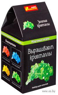 """Набор для выращивания кристаллов """"Зеленые"""""""