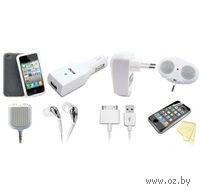 Аксессуары 14 в 1, для iPhone 4S/4/ iPod (Black)