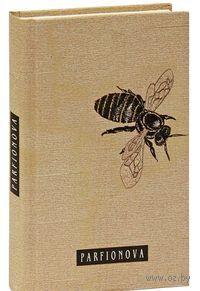 Блокнот для записей. Одинокая пчела