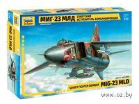 Советский истребитель-бомбардировщик МиГ-23МЛД (масштаб: 1/72)