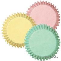 """Набор форм бумажных для выпекания кексов """"Пастель"""" (100 шт; арт. WLT-415-2123)"""