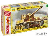 "Подарочный набор ""Немецкий танк Т-VI Тигр"" (масштаб: 1/35)"