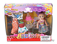 Кукла с аксессуарами (14 см; арт. V2020-3)