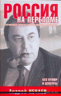Россия на переломе. Откровенные записки первого министра экономики. Андрей Нечаев