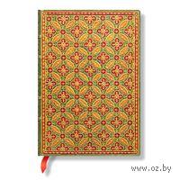 """Записная книжка Paperblanks """"Мозаика"""" в линейку (формат: 130*180 мм, средний)"""