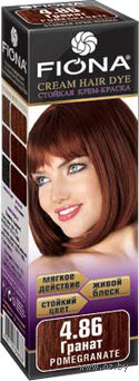 "Крем-краска для волос ""Fiona"" (тон: 4.86, гранат)"