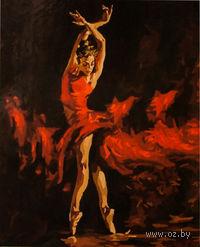 """Картина по номерам """"В огненном танце"""" (500x650 мм; арт. MMC054)"""