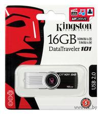 USB Flash Drive 16Gb Kingston DT 101 G2 (Black)