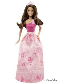 Кукла Барби. Принцессы мира моды (брюнетка)