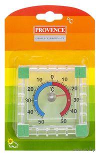Термометр наружный в пластмассово-металлическом корпусе (арт. 410010)