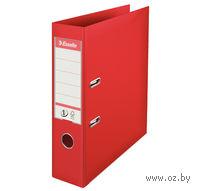 Папка-регистратор А4 с арочным механизмом, 75 мм (ПВХ, красная)