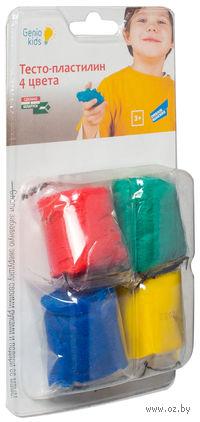 "Тесто для лепки ""Тесто-пластилин"" (4 цвета; арт. TA1055B)"