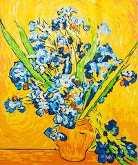 "Картина по номерам ""Ирисы. Ван Гог"" (500х400 мм)"
