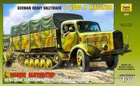 Немецкий тяжелый полугусеничный грузовик L 4500R