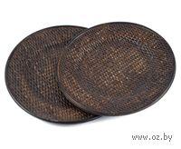 Набор тарелок декоративных (2 шт.; 300/280 мм)