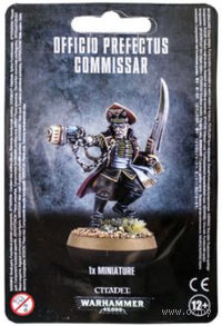 "Миниатюра ""Warhammer 40.000. Astra Militarum Officio Prefectus Commissar"" (47-20)"