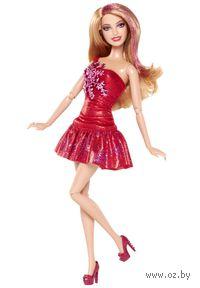 Кукла Барби. Игра с модой. Fashionistas (рыжая в красном)