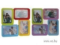 Рамка для фото пластмассовая на 4 фотографии (29,5*29, 5 см арт. 836310700)