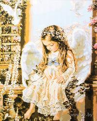 """Картина по номерам """"Юный ангел"""" (400x500 мм; арт. MG623)"""