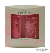 """Подарочный набор """"Modum Corallium"""" (гель для душа + гель-мусс для тела)"""