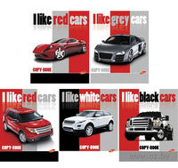 "Тетрадь в клетку ""I like cars"" 48 листов"