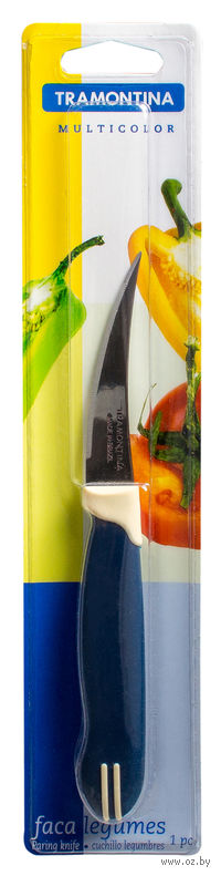 Нож металлический для овощей с пластмассовой ручкой (18/7,5 см, арт. 23512113)