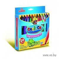 "Фломастеры ""Carioca Jumbo"" (24 штуки)"