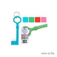 """Брелок силиконовый """"Ключ"""" (16х5 см)"""