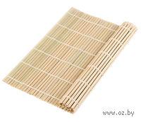Подставка сервировочная бамбуковая окрашенная (27*27 см)