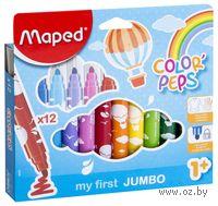 """Фломастеры """"Color Peps MAXI"""" (12 штук)"""