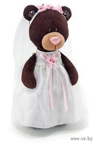 """Мягкая игрушка """"Медведь Milk. Невеста"""" (35 см)"""