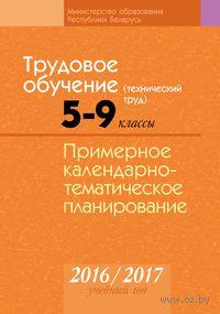 Трудовое обучение (технический труд). 5–9 классы. Примерное календарно-тематическое планирование. 2016/2017 учебный год