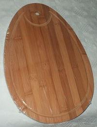 Доска разделочная бамбуковая (35,5*24,5*1 см)