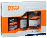 """Подарочный набор MenExpert """"Освежающий"""" (душ-гель + крем для бритья + бальзам после бритья)"""
