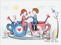 """Картина по номерам """"За любовь!"""" (300x400 мм; арт. ME027)"""